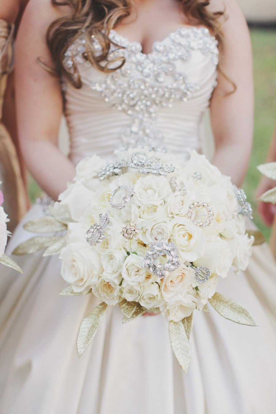 Bejeweled Flower Bouquet By Forever Photography Studio The Big Fat
