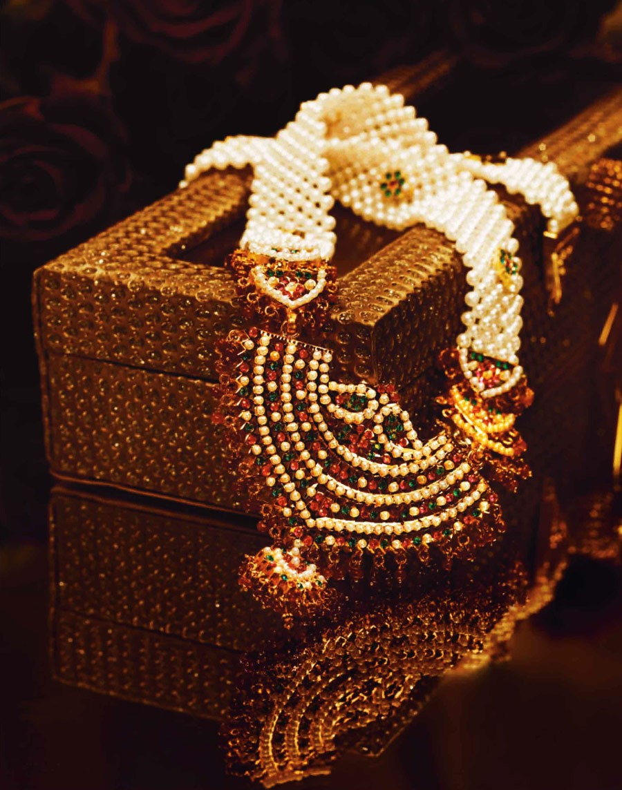 Tanishq Amritsari Jadau Necklace - The Big Fat Indian Wedding