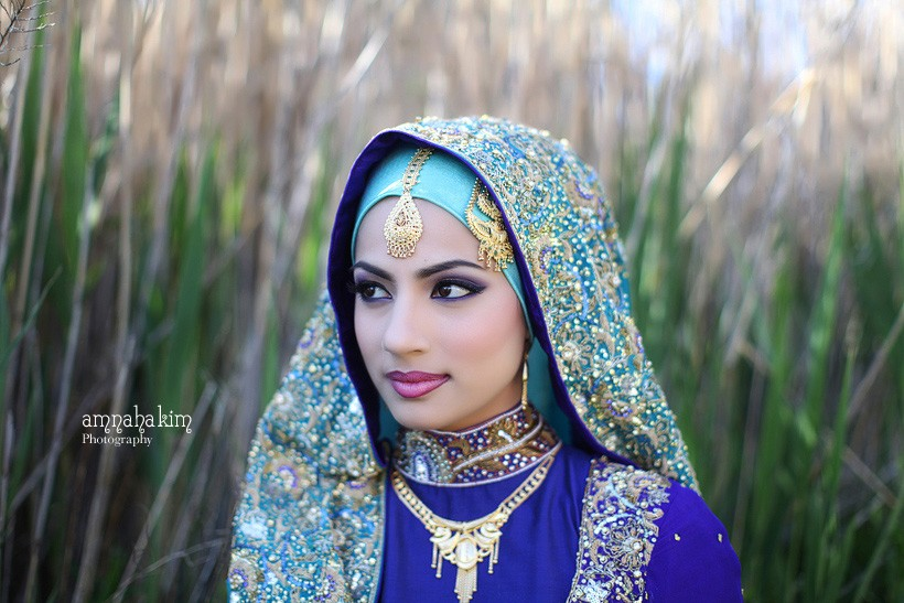 21 Wedding Hijab Looks - The Big Fat Indian Wedding