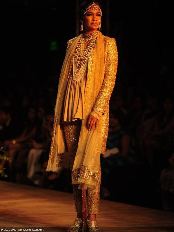 Sabyasachi's Steampunk Inspired Collection {Lakme Fashion ... Sabyasachi Lakme Fashion Week 2013