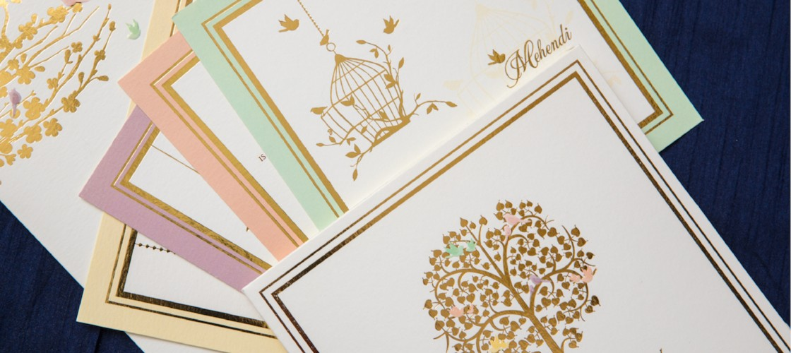 Customizing Creativity - Wedding Invitations