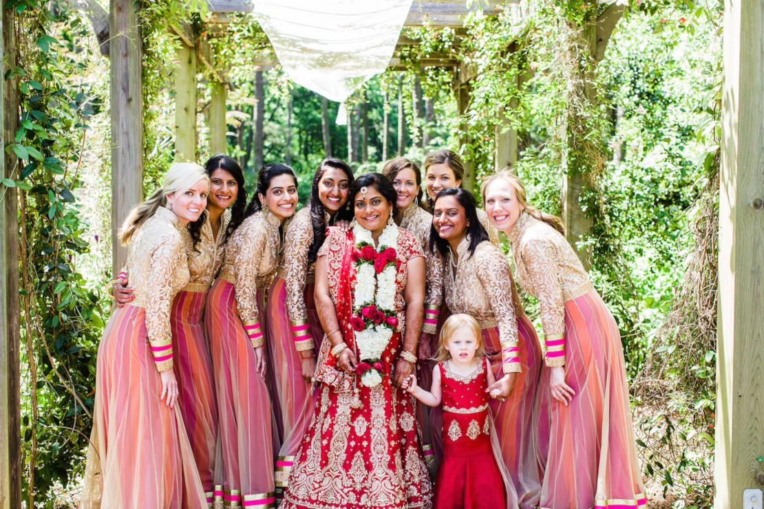 Colin And Amisha Had A Three Day Wedding Celebration Including Traditional Mendhi Party Pithi Ceremony Hindu As Well