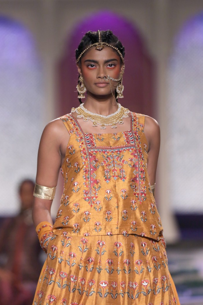 Anita Dongre's Rainbow Boho Wedding Collection {India Couture Week