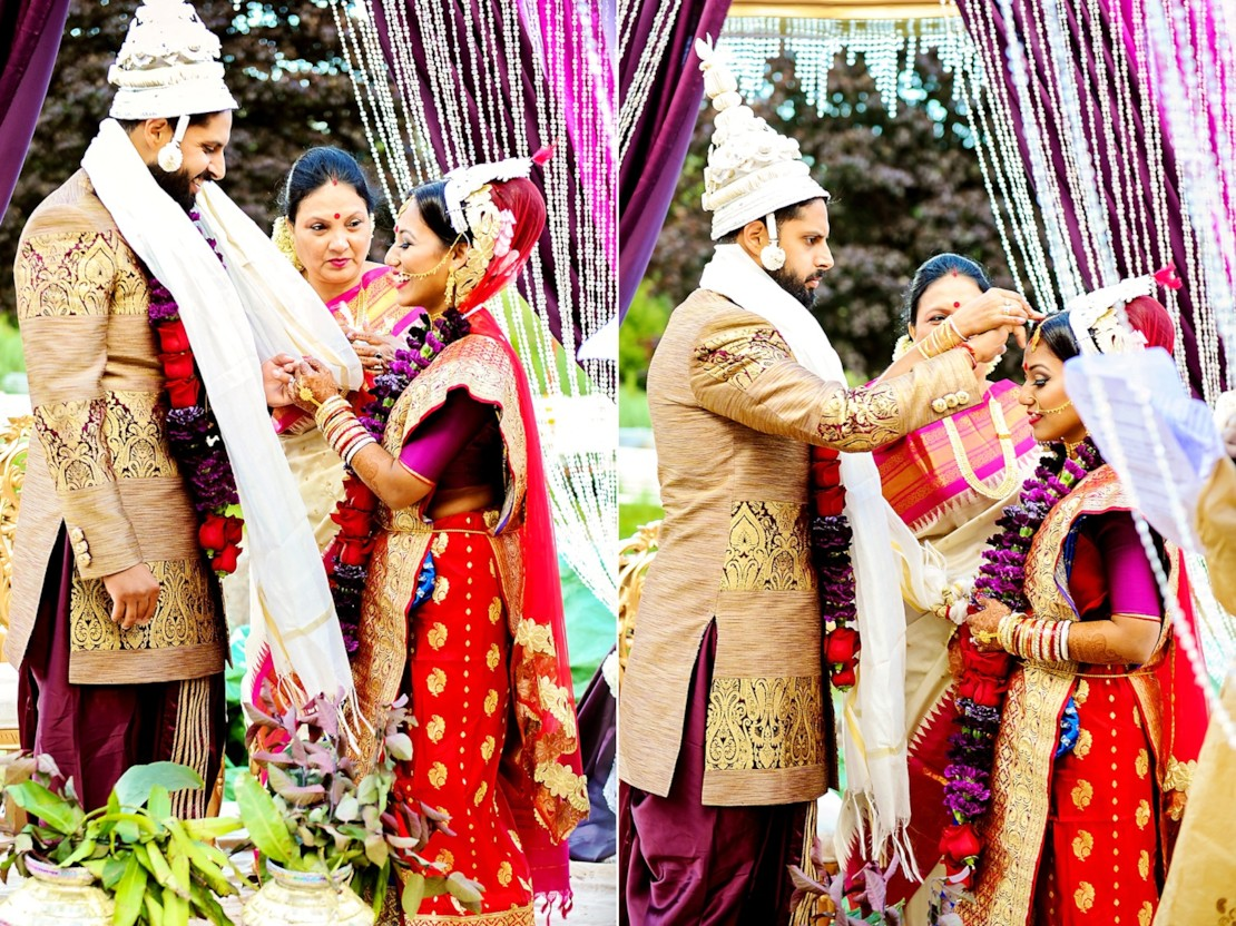 We Continue Trisha And Barinder Glamorous Triple Wedding Ceremony On The Canadian US Border Dont Forget Catch Sikh Modern