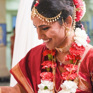 Intimate Malibu Hindu Temple Wedding California