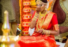 Red and Gold Classic South Indian Wedding {Mumbai, India}