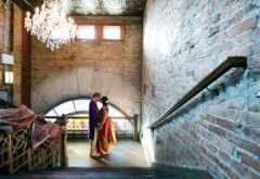 Opera House Indian Fusion Wedding at Thalia Hall {Chicago}