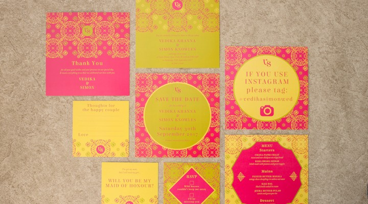 Ananya Cards 2018 Wedding Invitation Collection: Mandala Love