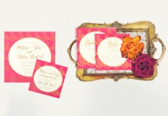 Ananya Cards 2018 Wedding Invitation Collection: Trio of Life