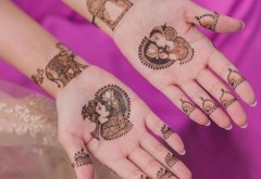 Trend Alert! Minimal Wedding Mehendi Designs