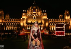 Enchanting Umaid Bhawan Palace Wedding {Jodhpur}