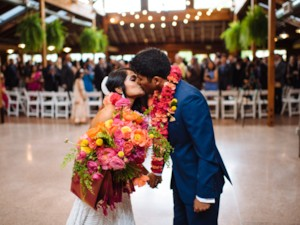 Indian Christian Spring Wedding at Kiana Lodge {Washington}