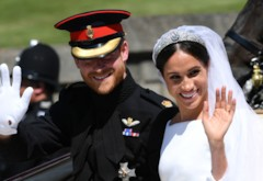 Prince Harry and Meghan Markle's Royal Wedding - PICS!