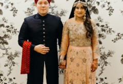 Sana & Philip's Chic Pakistani Fusion Wedding at the Renaissance RVA